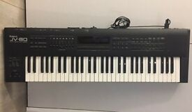 Roland JV-80 - Vintage digital synth with some mechanical issues