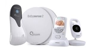Oricom Secure710 video monitor and TWO cameras plus Babysense2 monitor