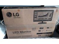 LG LED Monitor - 19.5 Inch - 20M38