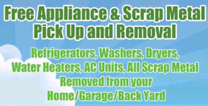 FREE LARGE SCRAP METAL REMOVAL & MOVING SERVICES