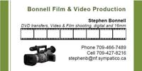Video Transfers to DVD & Video Production