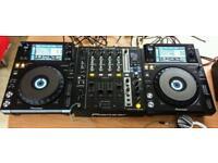 DJ Pioneer cdj XDJ 1000 + Mixer DJM-750-K