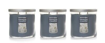Yankee Candle White Sage Small Tumbler Candle Single Wick - Lot of 3
