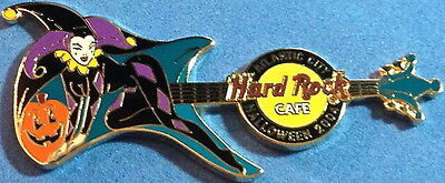 Hard Rock Cafe ATLANTIC CITY 2004 HALLOWEEN PIN Costume Guitar JESTER HRC #24951](Rock City Halloween)