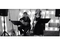 Acoustic duo performing live music -available for weddings and pub gigs in Kent