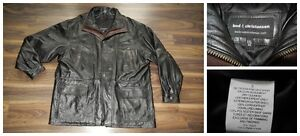Bod & Christensen Mens XXL Leather Coat