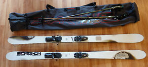 Skis + batons Rossignol Scratch Freestyle WRS 160cm