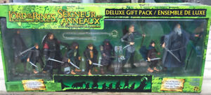 Lord of the Rings Fellowship 9 Figure Deluxe Gift Pack New 2003
