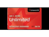 !!!Exclusive discount on Cineworld Unlimited and Odeon Limitless Passes Offer Ends JAN 10th 2017!!!