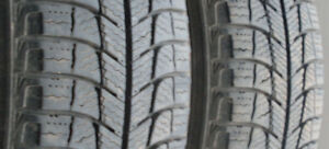 175/65 R15 (2) Michelin X-Ice Xi3 winter tires
