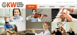 Piano, Violin, Guitar, Vocal, Saxophone lessons Kitchener / Waterloo Kitchener Area image 1