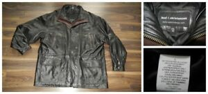 Men's Bod & Christensen XXL  Leather Coat