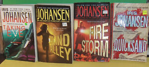 Lot of 4 Iris Johansen Paperback Pocket Novels