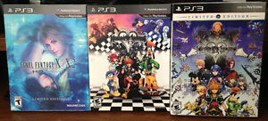 FFX-X2, Kingdom Hearts 1.5 and 2.5 Remix Limited Editions