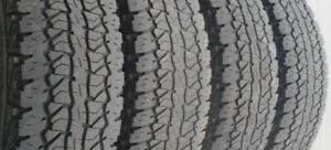 LT 235/75 R15 (4) Firestone Destination all season tires
