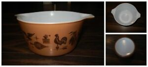 *Vintage* Early Americana #473 1 QT Casserole.