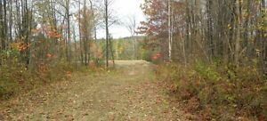 Cottage Riverfront Lot for Sale.  Surveyed and build ready