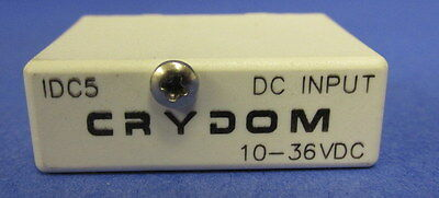 Crydom 10-36vdc Solid State Relay Input Idc5 Lot Of 2