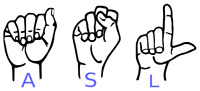 Trying to learn sign language