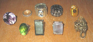 Bagues Fantaisies / Decorative or Costume Rings