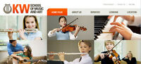 KW School of Music offering private lessons