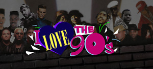 Two Tickets available - I Love 90s show at Centre 200 tonight