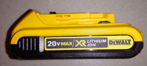 DEWALT MAX 20V 2.0 Ah Compact XR Li-Ion Battery Pack