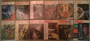 Galaxy Science Fiction: Complete 2-Year Set 1962/63 12 issues