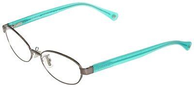 Coach HC 5032 9074 Randi Eyeglasses Glasses Dark Silver  Turquoise (Coach Turquoise Glasses)