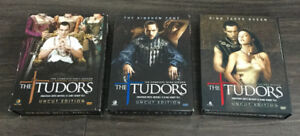 DVD's - THE TUDOR'S Seasons 1 to 3