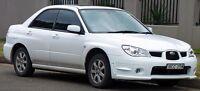 Looking for 2004-2007 Subaru Impreza Sedan