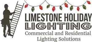 Free holiday lighting or window painting quote