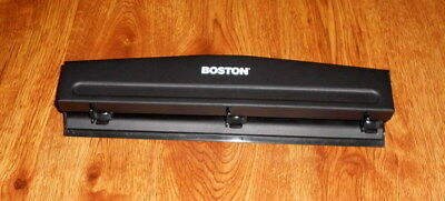Vintage Boston Hunt 1548 3-hole Paper Punch 932 Holes Super Fast Shipping