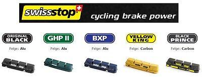SwissStop Flash Pro / Evo Rennrad Bremsbeläge für Alu - und Carbonfelgen ()