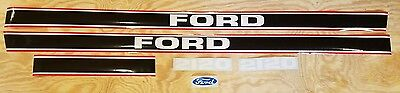 Ford 2120 Tractor Hood Decal Set