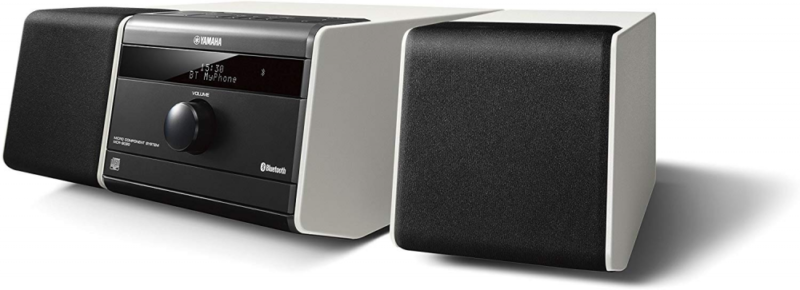 yamaha anlage stereoanlage mini mikro komponentensystem mit bluetooth in wei ebay. Black Bedroom Furniture Sets. Home Design Ideas