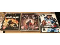 30 DVD's Bundle with 3 PS3 Games £20