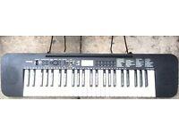 Casio Full-Size keys SYNTHESISER Piano Keyboard CTK240 Tone bank 465 Rhythms/Tones/Song Bank