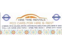 PCO CAR HIRE/RENT