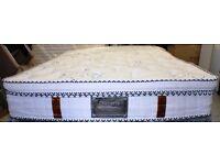 Brand New Sealed Dulcette premium pocket sprung spring king size mattress 150 x 200 cm RRP £739