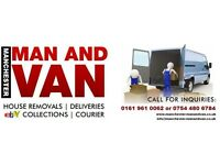 COLLECTION OR DELIVERY - REMOVALS - MAN AND VAN MANCHESTER - Available 7 Days a Week