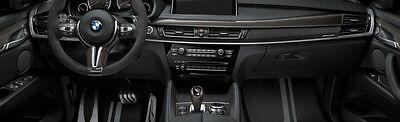 BMW OEM F15 F85 X5 2014-18 M Performance Carbon Fiber Interior Trim Kit RHD New