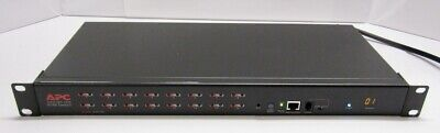 APC AP5202 16-Port Multi-Platform High-Density Analog KVM Switch Rackmount High Density Analog