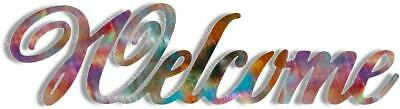 Dxf Cnc Vector Welcome Sign Art Cut Ready Bath Decor Svg Vector Cnc File