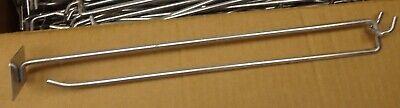 24 Pegboard Peg Board Hooks 10 Inch Scanner End All Metal