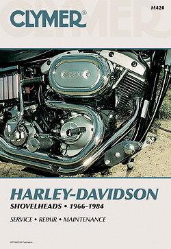 Harley Davidson Electra Glide Super Glide Shovelhead Clymer Manual M420 NEW