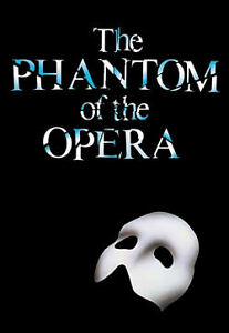 The Phantom Of The Opera Tickets - Pair