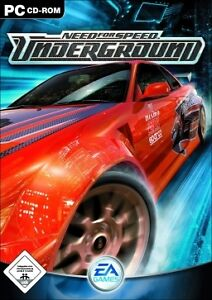 Need for speed Underground video game for PC, Jeux vidéo pour PC