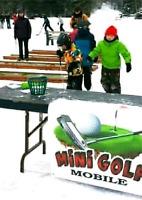 Jeux gonflables et⛳ Mini Golf Mobile⛳Installé partout au Québec!
