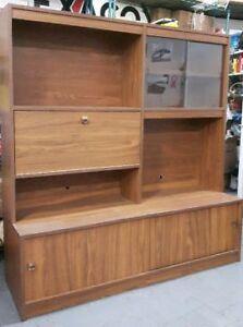 Meuble  télé  / bar / bibliothèque   wall furniture TV stand